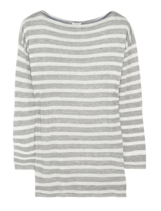 Because you can never have enough striped shirts, we recommend this subtle