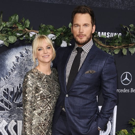 Chris Pratt and Anna Faris's Couple Style