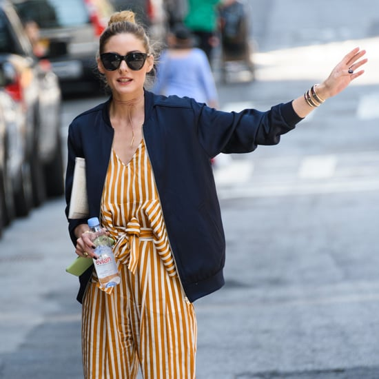 Olivia Palermo's Striped Outfit in New York June 2016