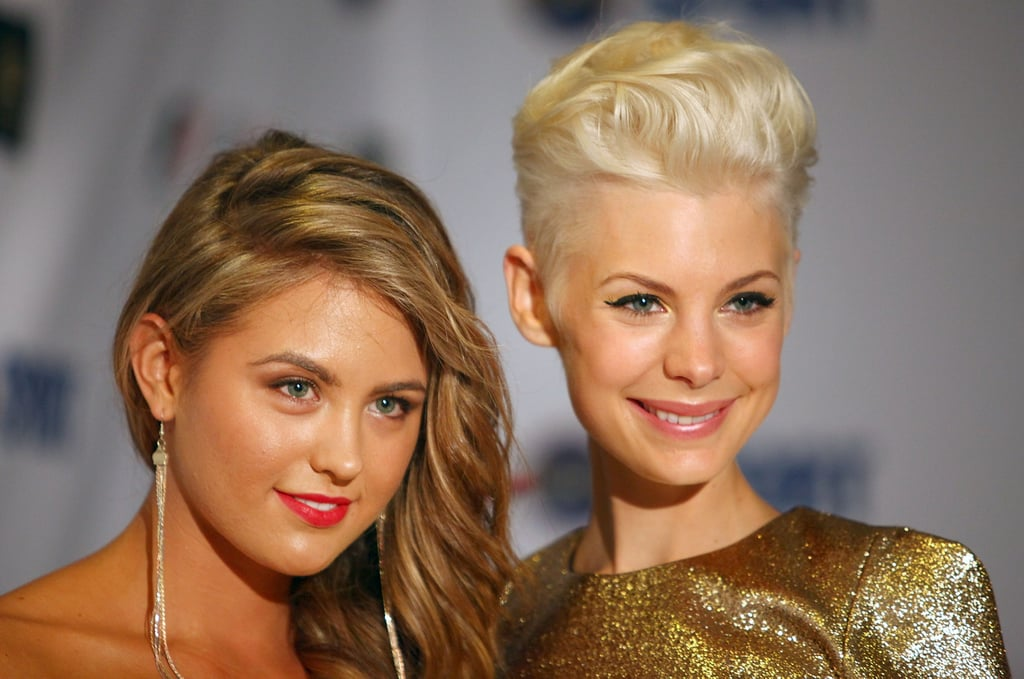 Jesinta Campbell and Kate Peck