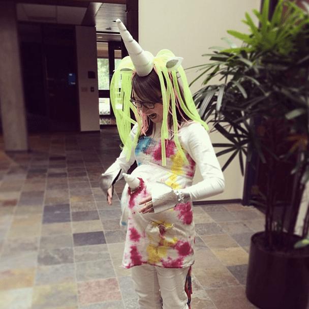 The Pregnant Unicorn