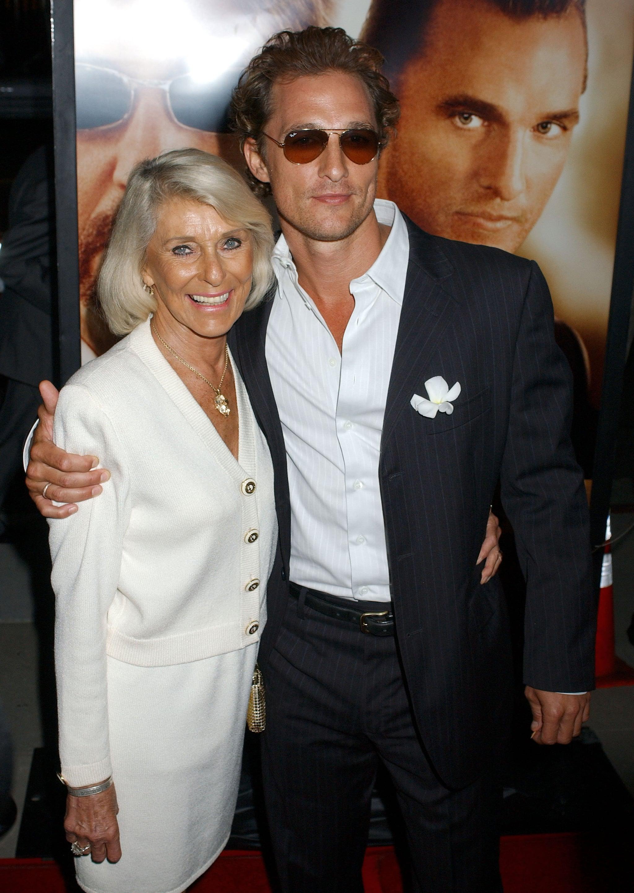 Matthew McConaughey and Kay McCabe