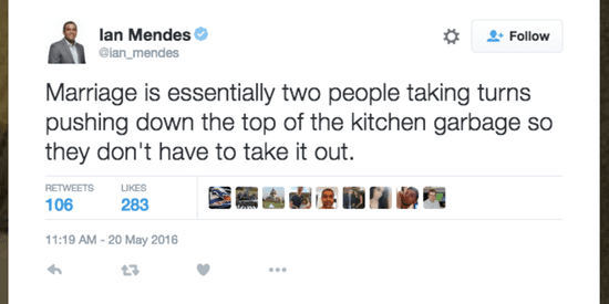 19 Spot-On Tweets That Will Ring True To Married People
