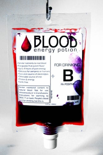 Blood Energy Drink