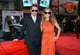 Robert Downey Jr. and Susan Downey wore sunglasses on the red carpet.