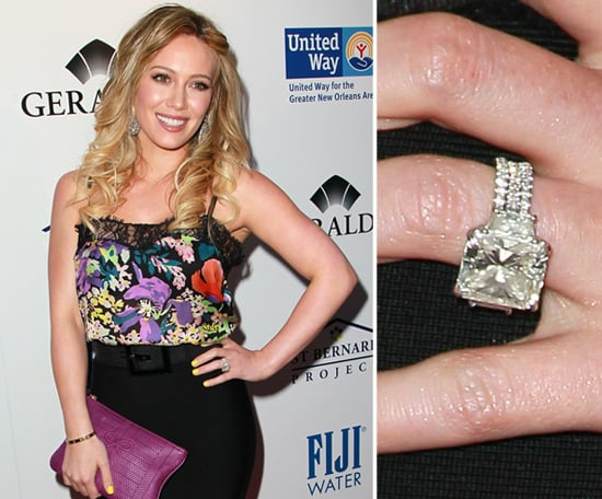 Hilary Duff The Very Best Celebrity Engagement Rings POPSUGAR Celebrity