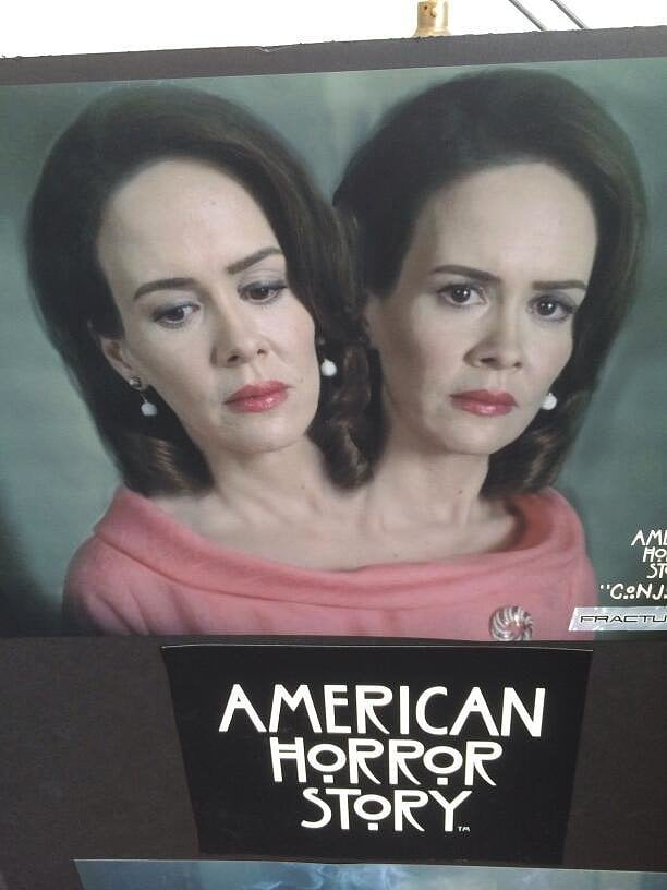 Headiest Picture: Sarah Paulson's American Horror Story Reveal