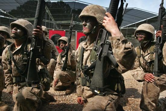 Female Marine Recruits More Lax About Sex Than Civilians