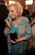 Betty White gave her statue a smooch in 2011.