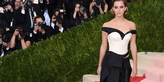 Emma Watson's Met Gala Dress Was Made Of Recycled Plastic Bottles Because She's Awesome
