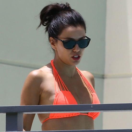 Eva Longoria Wears a Bikini in Miami June 2015 | Pictures