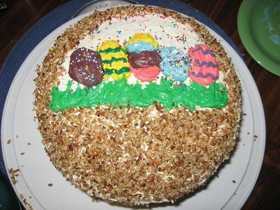 Reader Recipe: Carrot Cake Easter Basket