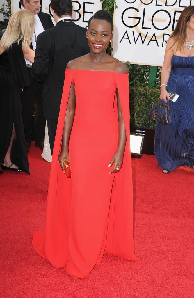 Lupita Nyong'o in Ralph Lauren