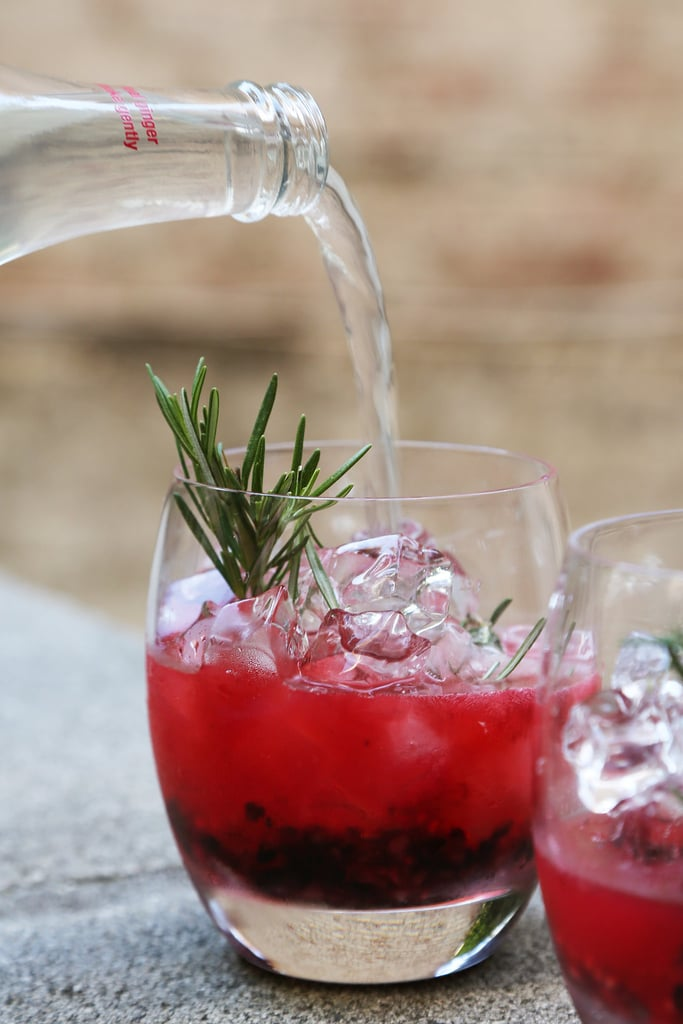 Vodka-Berry Cocktail