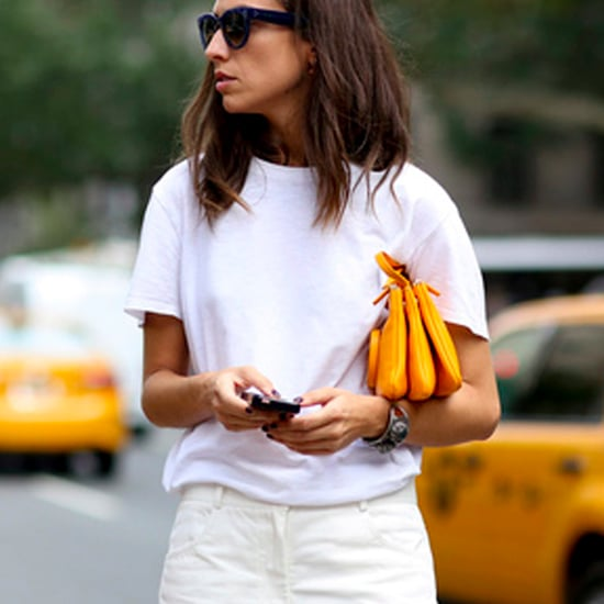 How to Wear White T-Shirts 2015