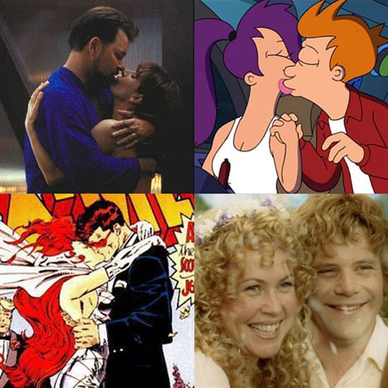 Sugar Shout Out: 10 Sweetly Geeky TV and Movie Marriages