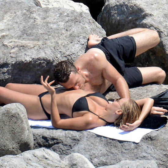 Sam Worthington and Lara Bingle PDA in Italy | Pictures