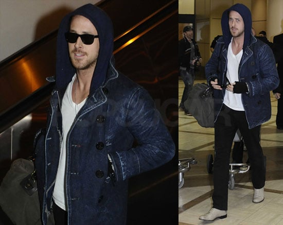 Photos of Ryan Gosling Back in LA After Promoting Blue Valentine at the 2010 Sundance Film Festival
