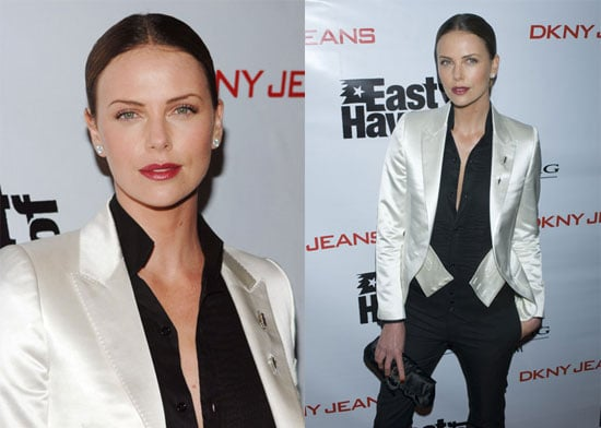 Charlize Premieres Her Pet Project