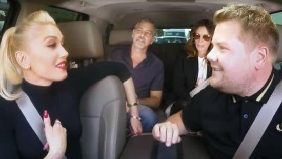 VIDEO: George Clooney And Julia Roberts Join Gwen Stefani For Carpool Karaoke