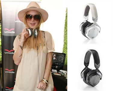 Celebrities Wearing V-Moda Headphones at the MTV Movie Awards Gift Lounge
