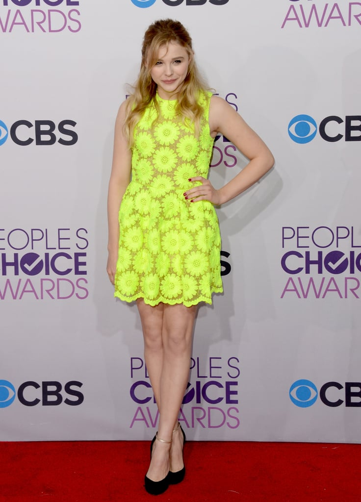 Chloë Moretz attended the 2013 People's Choice Awards.