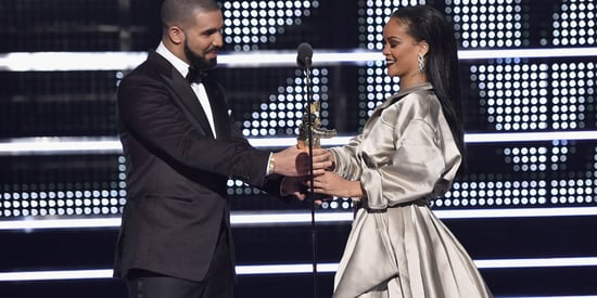 Drake And Rihanna's Kiss Wins The Award For Most Awkward VMAs Moment