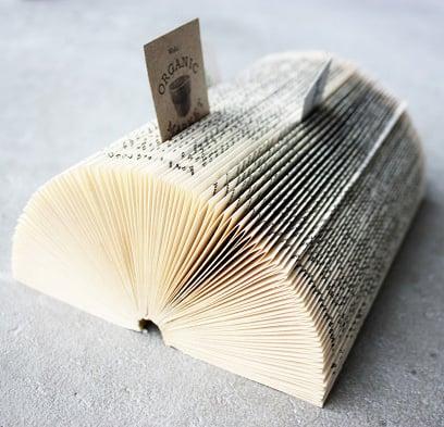Book Business-Card Holder