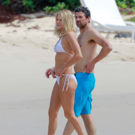 Patrick Dempsey and Wife Vacation Pictures February 2016