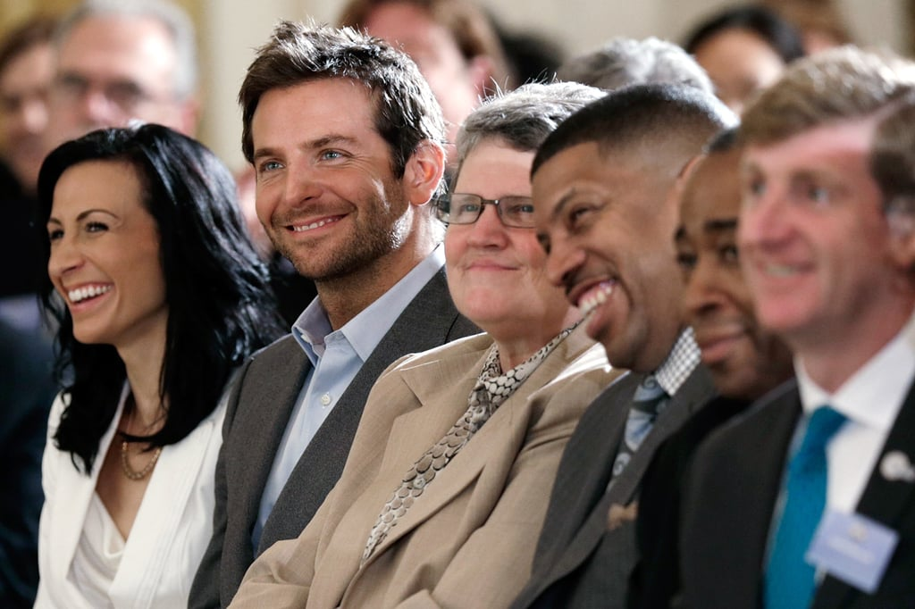 Bradley Cooper was in the audience during the White House Conference on Mental Illness.