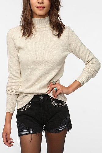 Consider this Sparkle & Fade Mock Neck Pullover Sweater ($49) your classic go-with-anything sweater that you'll return to again and again — and it's under $50, to boot.