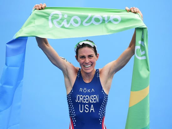 Gwen Jorgensen Becomes First U.S. Woman to Win Gold in Olympic Triathlon