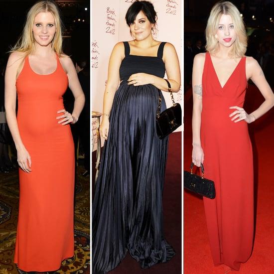 Pregnant UK Celebrities 2012
