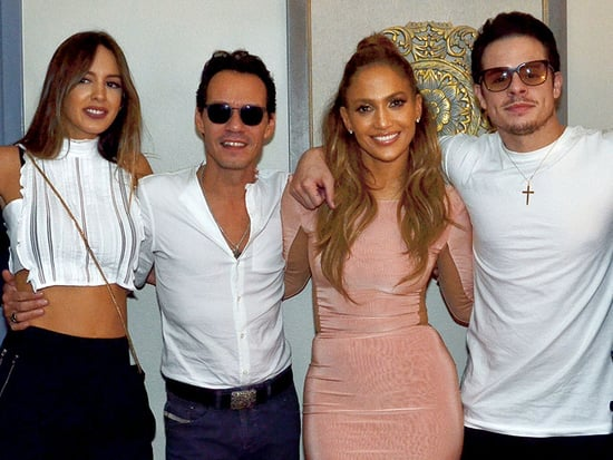 Jennifer Lopez Gives Cute Shout Out to Ex-Husband Marc Anthony During Vegas Show