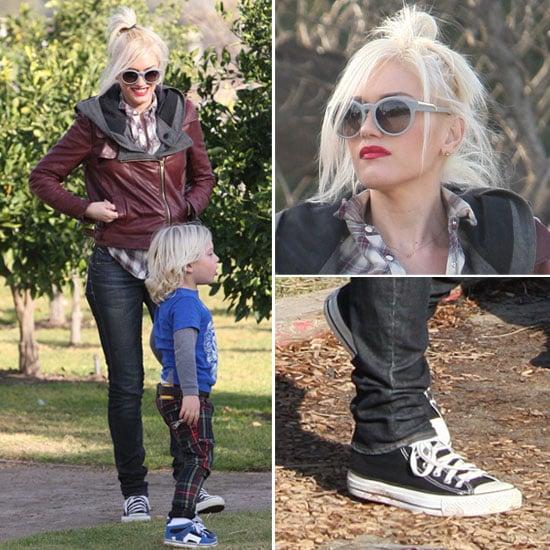 Gwen Stefani at Underwood Family Farms