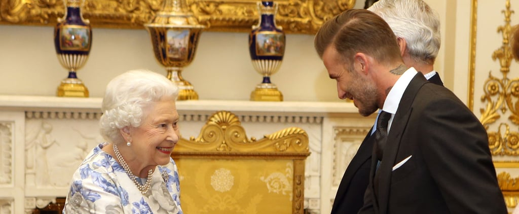 The Queen's Smile Tells You Everything You Need to Know About Her Moment With David Beckham