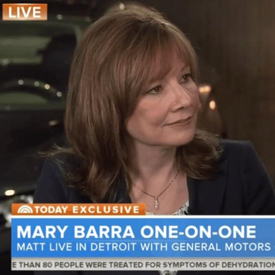 Matt Lauer Interviews General Motors CEO Mary Barra