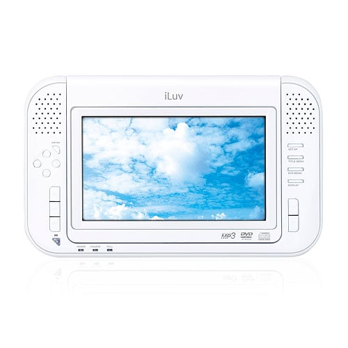 The White iLuv Multimedia Player For Your iPod
