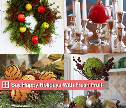 Sugar Shout Out: Say Happy Holidays With Fresh Fruit!