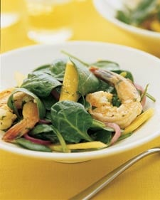 Shrimp Spinach Salad Recipe
