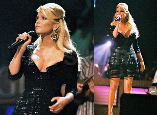 Photos of Jessica Simpson Performing at the Grand Ole Opry