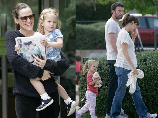 Photos of Celebrity Baby Violet Affleck with Jennifer Garner and Ben Affleck