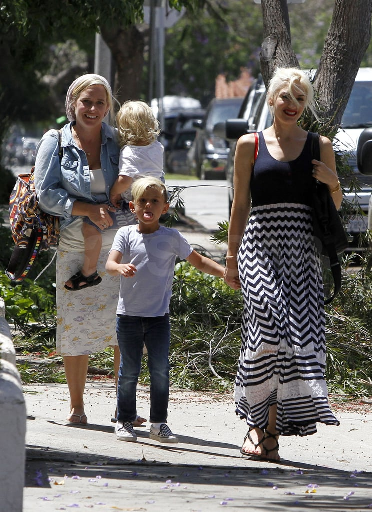 Gwen and Gavin Do a Monday Lunch With Kingston and Zuma