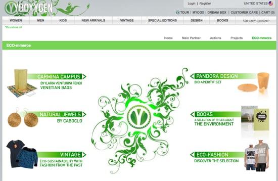 Yoox.com Launches Yooxygen.com