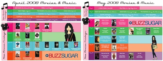 Introducing Buzz's Downloadable Entertainment Planner!