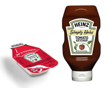 Heinz Redesigns Ketchup Packets, Formula