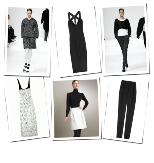 Narciso Rodriguez Fall 2008 Deliveries: Black & White