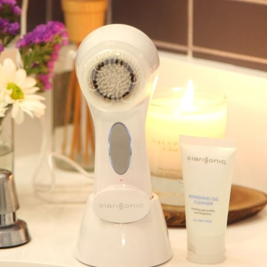 Another hit how-to on Pinterest was this Clarisonic cleansing video. Maybe it's time to give up washing your face by hand.