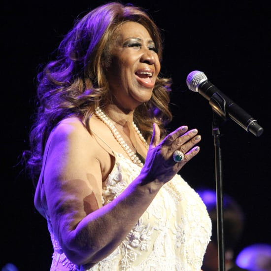 """Aretha Franklin Covers Adele's """"Rolling in the Deep"""" 