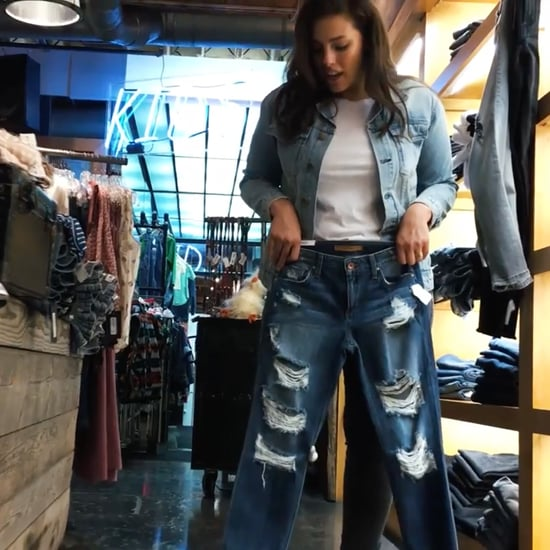 Ashley Graham Jean Shopping For Vogue 2016